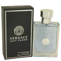 Versace Pour Homme Cologne By  VERSACE  FOR MEN  3.4 oz Deodorant Spray