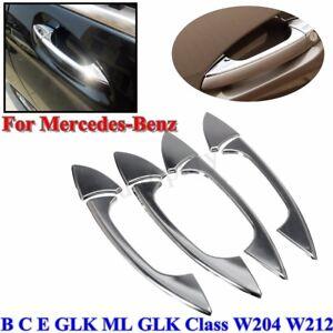 Door Handle Cover Trim For Mercedes-Benz E GLK ML CLA C-Class W204 W212 GLK250