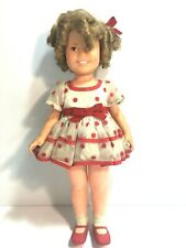 Vintage Shirley Temple Doll 1972 Ideal with Original Clothing 16 in Collectible