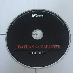 🎶 💿 Jonathan And Charlotte Together Cd, Disc Only, Mint Condition 💿 🎶