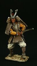 Tin soldier, Collectible, Samurai, XII c. 54 mm, Feudal Japan