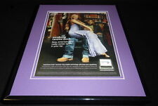Mariah Carey 2006 Intel Centrino Duo 11x14 Framed ORIGINAL Advertisement