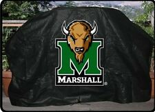 """MARSHALL UNIVERSITY 68"""" Barbecue BBQ Heavy Duty Vinyl Gas Grill Cover"""