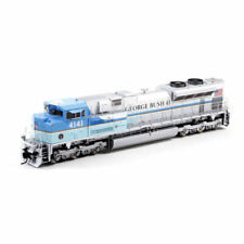Athearn G04141 HO SD70ACe with DCC and Sound UP George HW Bush 4141 Locomotive