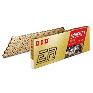 DID Racing Motocross MX Enduro Drive Chain ALL Gold - 520 ERT3 120 Links
