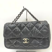 Chanel Hand Bag  Black Canvas 912454