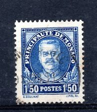 Monaco (2622) 1933 1f50  Blue  Prince Louis 11    Sg134  Used