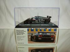 MINICHAMPS McLAREN F1 GTR - BMW POWERED - 1st LE MANS 1995 1:43 - IN DEALER BOX