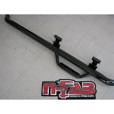 N-FAB C88100XC-4 Gloss Black Nerf Step; Bed Access Chevy-GMC 1500 2500 Extended Cab 2 Door 8 Long Bed 88-98