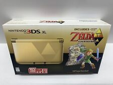 Nintendo 3DS XL - Legend of Zelda A Link Between Worlds Console - with BOX COVER