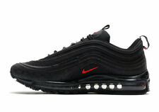 Nike Air Max 97 Athletic Shoes for Men, Size 11US - Black/Red