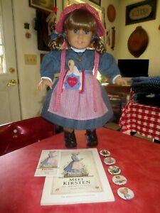 Beautiful Pleasant Company American Girl Kirsten Doll in Full Meet + Access. EC