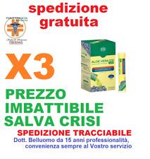 X3 Aloe Vera Succo + Forte Mirtillo 24 Pocket Drink