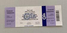 Filter Fuel Rare Concert Ticket Stub Lynchburg, Va 07/28/2012