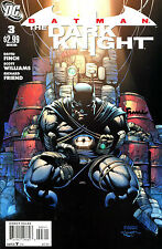 Batman The Dark Knight #3 First Printing Signed By Artist David Finch