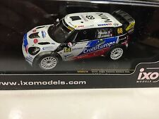 MINI JOHN COOPER WORKS MULLER FRANCE 2012 IXO RALLY 1:43 DIECAST-CAR RAM518