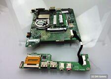 Mainboard von einem Acer One ZG5 Netbook mit Atom CPU, Lüfter und Speicher
