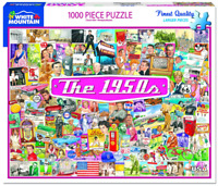 The 1950s 1000 Piece Jigsaw Puzzle 760mm x 610mm   (wmp)