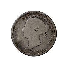 1888 Canada Silver Dime 10 Cents Ten KM#3 Queen Victoria Coin
