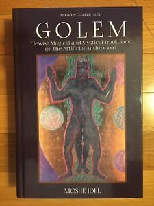 Golem: Jewish Magical and Mystical Traditions Hardcover, 2019 NEW