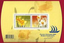 Canada  #2091 Souvenir Sheet       Daffodils  2005   50c   Fresh  Pristine Gum