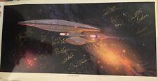 Star Trek Enterprise Ready Room - signiert, Autogramm - Lithographie inkl. COA !