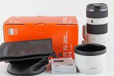 Sony AF SEL FE 70-200 mm 1:4 G OSS Tele-Zoomobjektiv E-Mount Vollformat