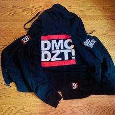 Run DMC jacket hoodie DZT! hip hop rap Dissizit Dissizit! XL Jam Master J coat