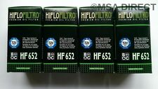 KTM EXC-F 350 / Six Days (2012 to 2016) HifloFiltro Oil Filter (HF652) x 4 Pack
