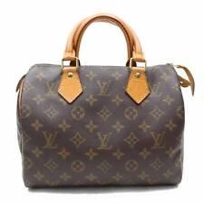 Auténtico Louis Vuitton Bolso de Mano Speedy 25 M41528 Marrón Monograma 114655