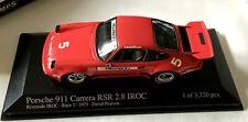PORSCHE 911 CARRERA RSR 2.8 IROC RIVERSIDE IROC 1 1973 MINICHAMPS 400736305 1/43