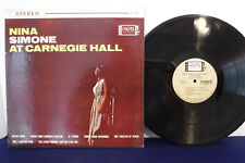 Nina Simone At Carnegie Hall, Colpix Records SCP 455, 1963 Soul-Jazz