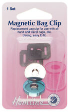 Hemline Magnetic Bag Closure
