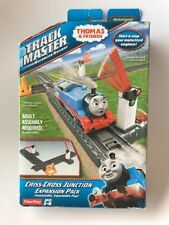 Fisher-Price Thomas Train TrackMaster Criss-Cross Junction NIB W/ Adapter Track