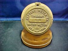 New ListingVintage Brass Water Meter Cover Converted To A Hygrometer