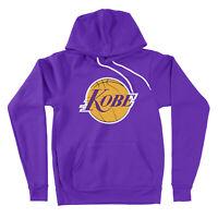 Los Angeles Kobe Bryant Lakers Black Mamba Hooded Sweater Logo Pullover Hoodie