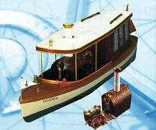 "Model Boat Plans 1/12 Scale  301/2"" Radio Control Steam Launch & Engine Plans"