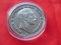 5 Mark Preussen 1888 mit schöner Patina ( ** N P ** / KEIN Silber !!! )