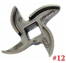 Mincer Blade No 12 Stainless Steel, Curved Edge Genuine Salvador