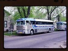 Original Slide Bus, Lincoln Bus Tours 89, Hanover Pa, Kodachrome 1984