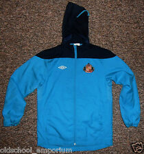 Sunderland AFC / UMBRO - JUNIOR zip-up hooded Track top / Jacket. Size LB, 152cm
