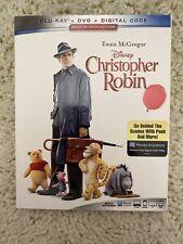 Christopher Robin ( Blu-Ray + DVD + Digital Copy ) Disney Winnie The Pooh