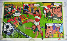 NITF ☆ 1982 ☆ NIKE Soccer Poster ☆ William Wm Stout Art Story ☆ Terry Terrific