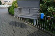SPANFERKELGRILL 800 x 450 x 300 mm, LAMMGRILL, HÄNCHENGRILL, EDELSTAHL,