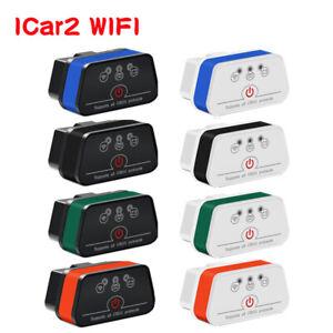 Vgate ICar2 V2.1 SUPER MINI OBD2 WiFi Diagnostic Scanner Tool for Android IOS PC