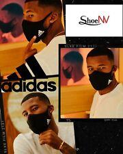 Adidas Face Mask Cover Reusable Washable Comfort Size - M / L Black