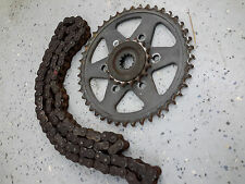 2002-2005 Kawasaki ZZR1200 Chain and Sprocket Kit USED zzr 1200 zx1200 44t 17t