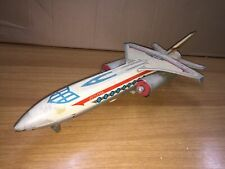 Red China Aereo B/O in Latta JETLINER ME 671 40 cm Vintage