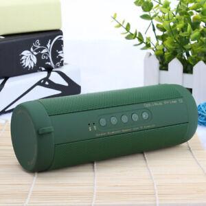 T2 FM Mini Bluetooth Speaker Wireless Stereo Loud Super Bass Sound Aux USB