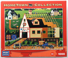 jigsaw puzzle 1000 pc Amish Barn Building HomeTown Collection Heronim
